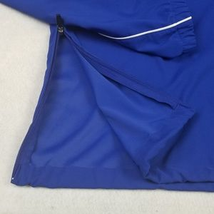 Under Armour Jackets & Coats - Under armour Mens large pull over blue jacket